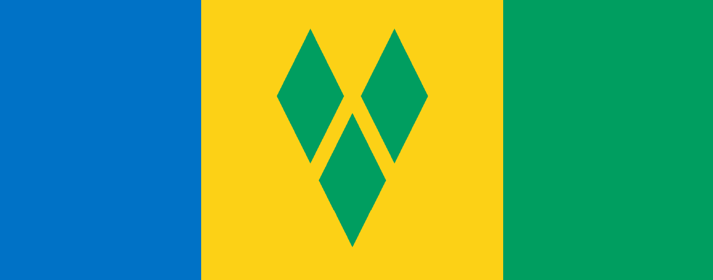 Saint Vincent and Grenadines Flag